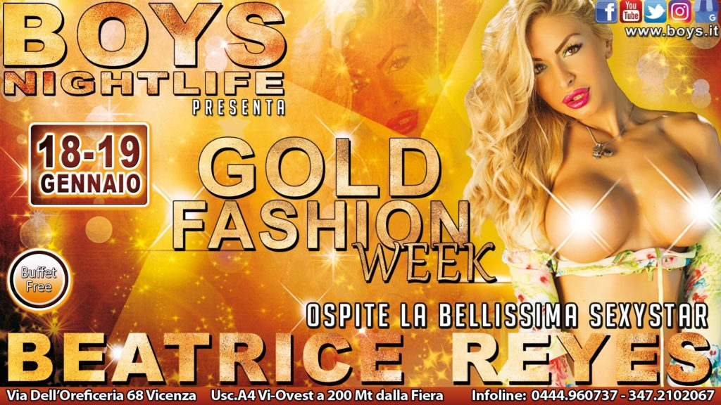 Gold Fashion Week feat. Beatrice Reyes
