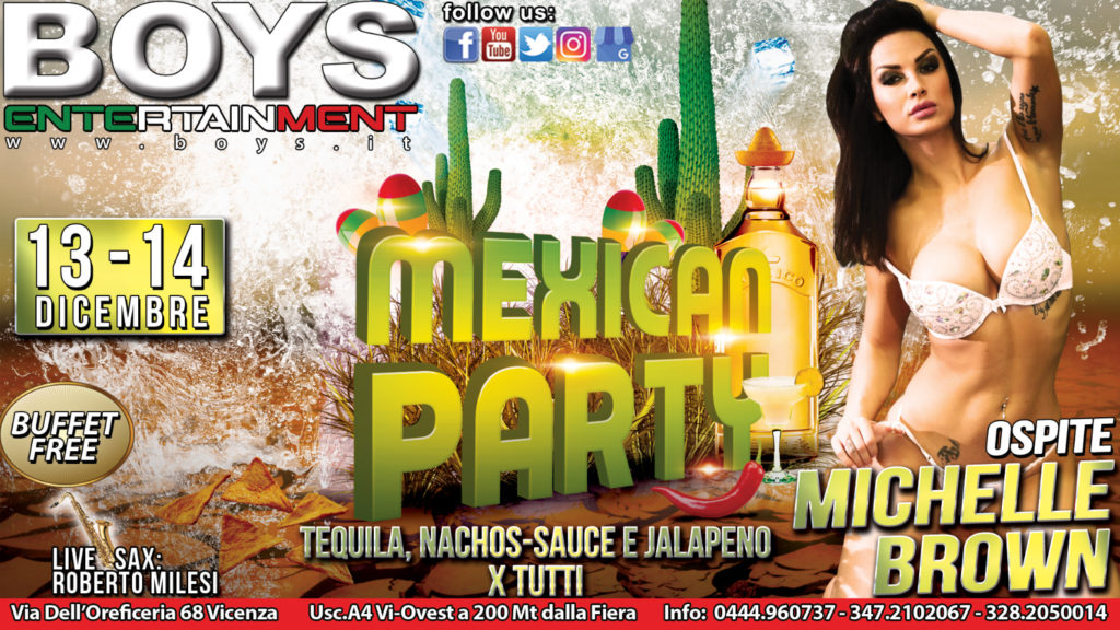 MEXICAN PARTY CON MICHELLE BROWN
