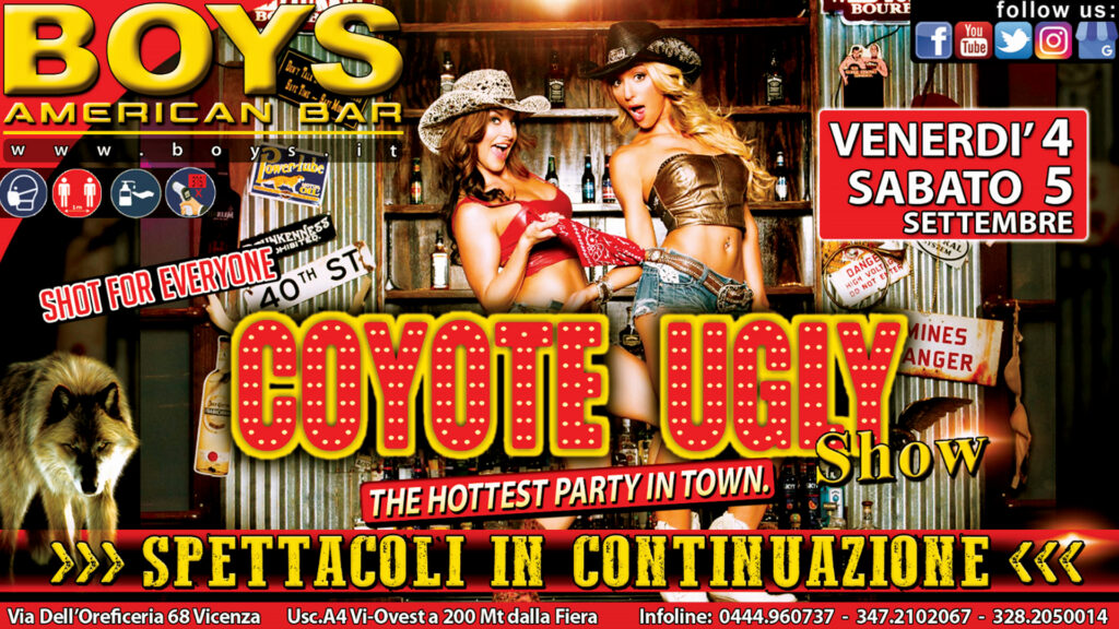 American Bar Coyote Ugly Show
